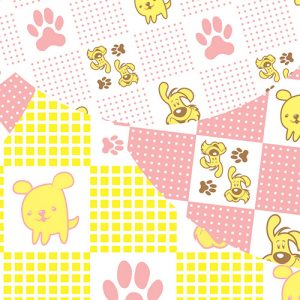 Puppy Pink/Yellow
